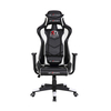 Ergonomic Computer Gaming Chair with High-Back Swivel PU Leather, Seat Height Adjustable