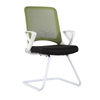 KB-2028C White Frame Back Mesh Conference Guest Chair