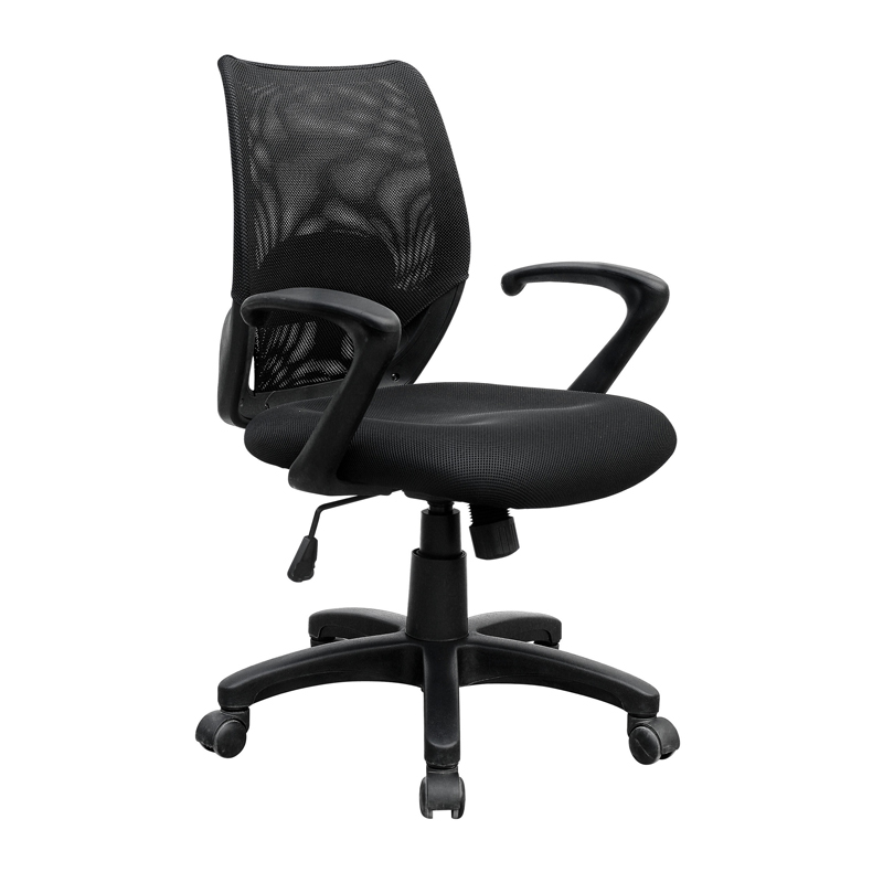 KB-2017 Low Back Mesh Office Chair Swivel Chairs Plastic Frame Chair